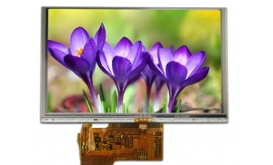 "4.3"" IPS Sunlight Readable Display, 1100 cd/m2"