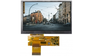 "5"" IPS Sunlight Readable Display, 1000 cd/m2"