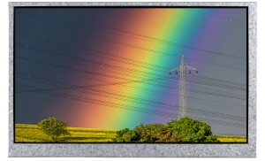 """7 """" IPS Sunlight Readable Display, 1300cd/m2 with CTP"""