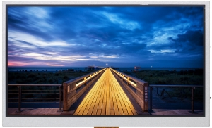 """10.1"""" IPS Sunlight Readable TFT Display, 1000cd/m2, LVDS Interface with 50K Lifetime Hours"""