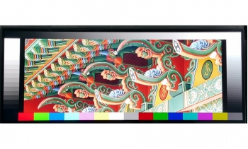 """12.3"""" Bar Style Display, 650cd/m2 plus Driver Board with LVDS Interface"""