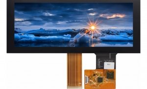 "6.86"" Bar Style TFT Display, 390cd/m2 with CTP"