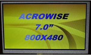 "7.0"" Low Cost Display, 250cd/m2"