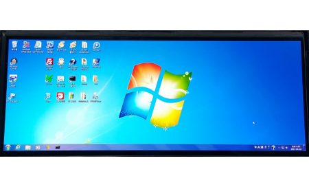 """12.3"""" Bar Style Display, 650cd/m2 plus Controller Board with RSDS Interface"""