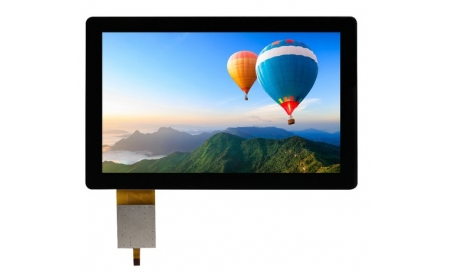 "7 "" IPS Sunlight Readable Display, 1500cd/m2"