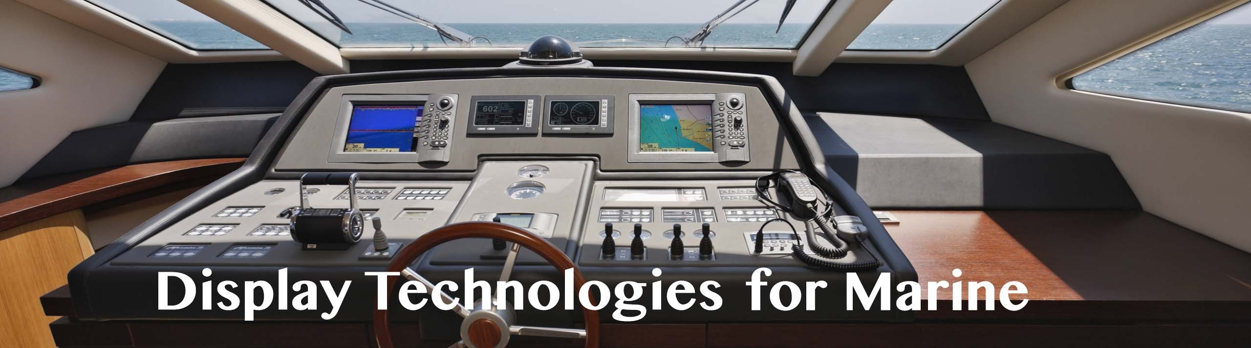 Display Technologies for Marine